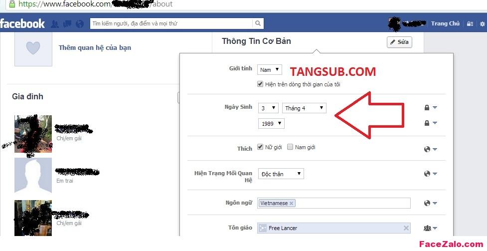 Tài khoản Facebook của bạn không có nút Theo dõi (Subscribe)?