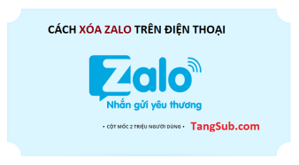 Xóa triệt để Zalo trước khi gỡ ứng dụng Zalo chat