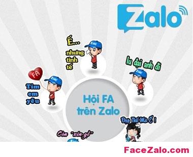 Hội FA trên Zalo