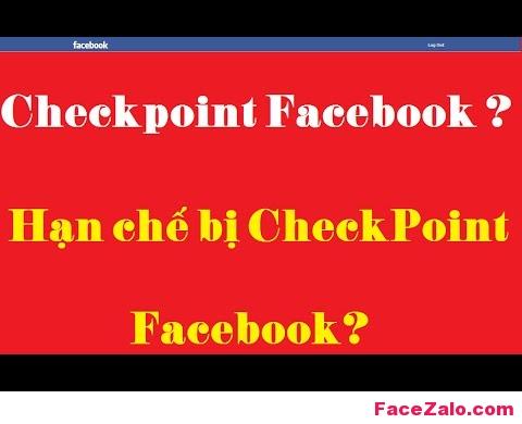 Nguyên nhân checkpoint facebook