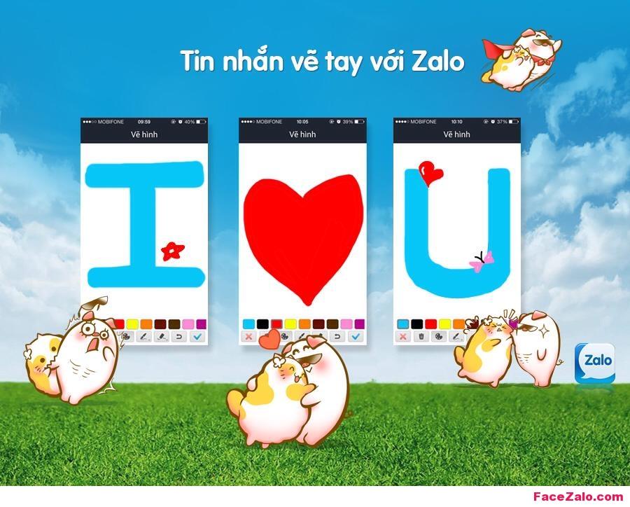 Thêm một cách để bày tỏ tình cảm với người ấy trên Zalo. Bạn có dám thử không?