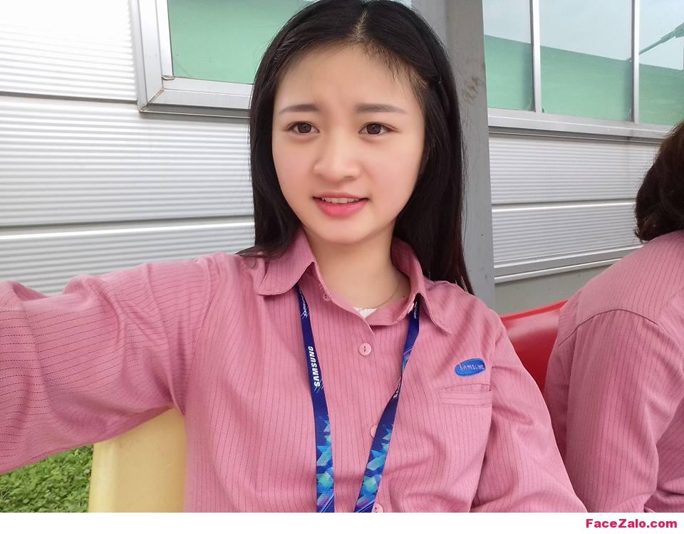 Ảnh những nữ nhân viên xinh đẹp cty SamSung Việt Nam
