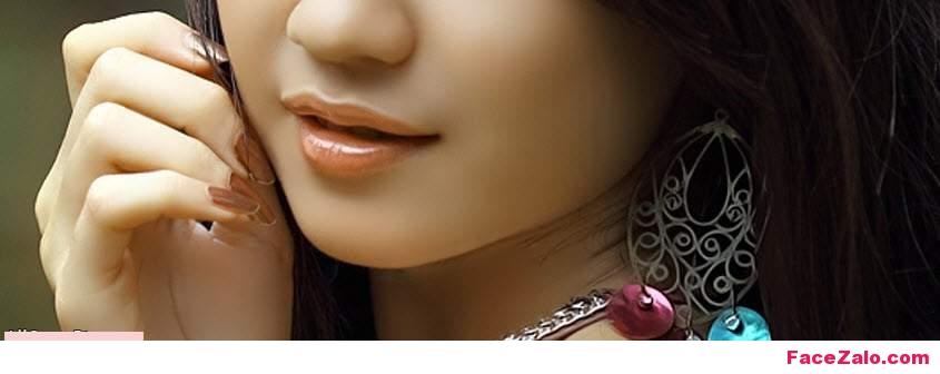 Ảnh bìa cặp mắt, đôi môi của gái xinh sang chảnh!