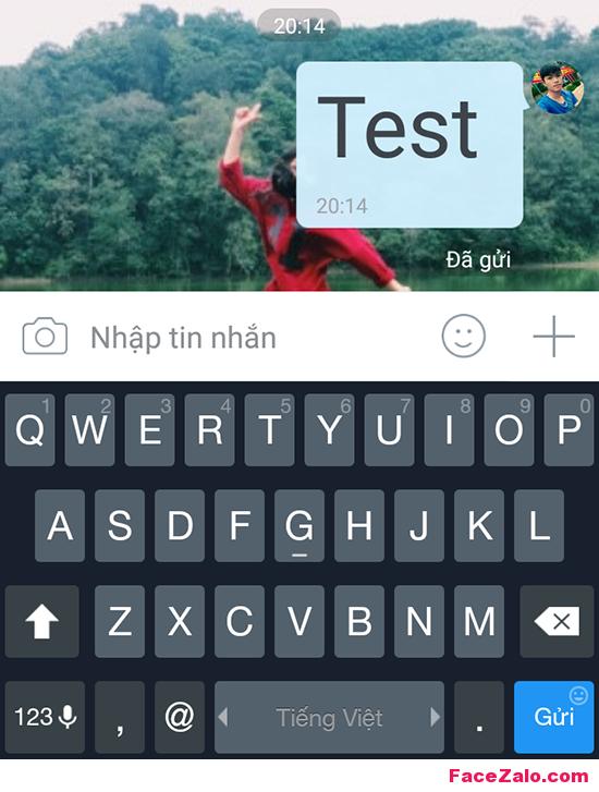 Tin nhắn Zalo chữ quá bé hoặc quá lớn, làm sao chỉnh được?