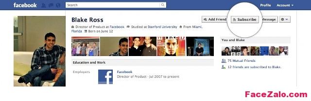 theo doi subscribe nick facebook