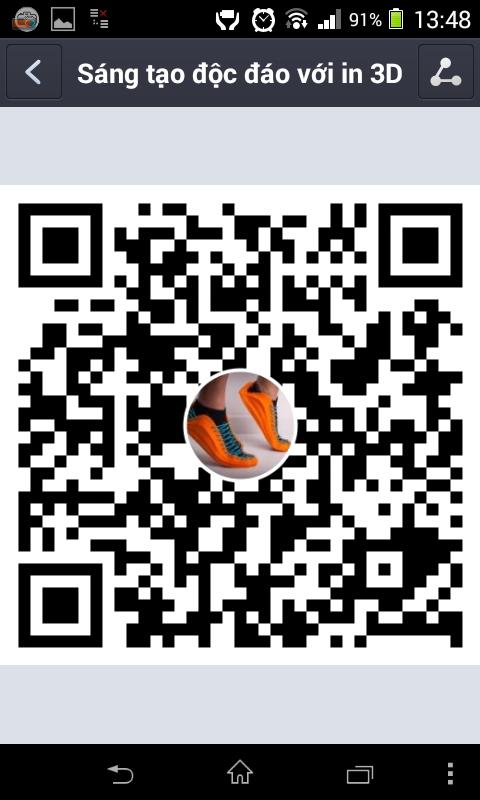 tao QR code Zalo Page