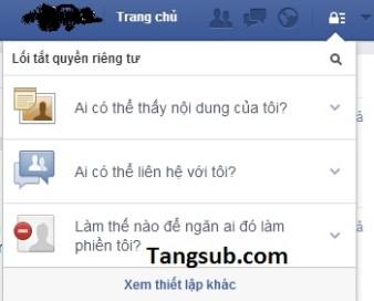 Cách mai danh ẩn tích trên Facebook!