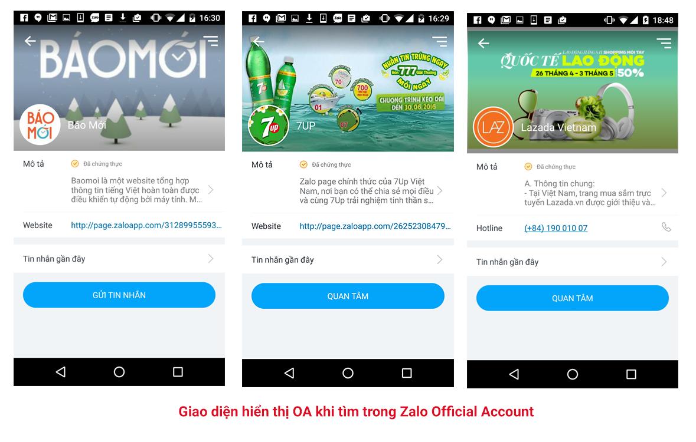 Thêm ảnh bìa, avatar và giao diện Zalo store đẹp hấp dẫn!